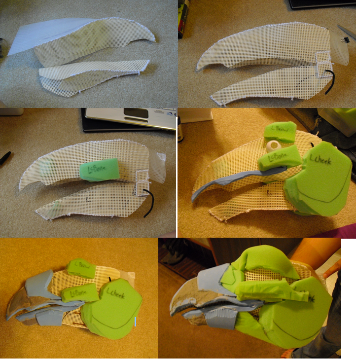 Giant Gryphon Puppet WIP