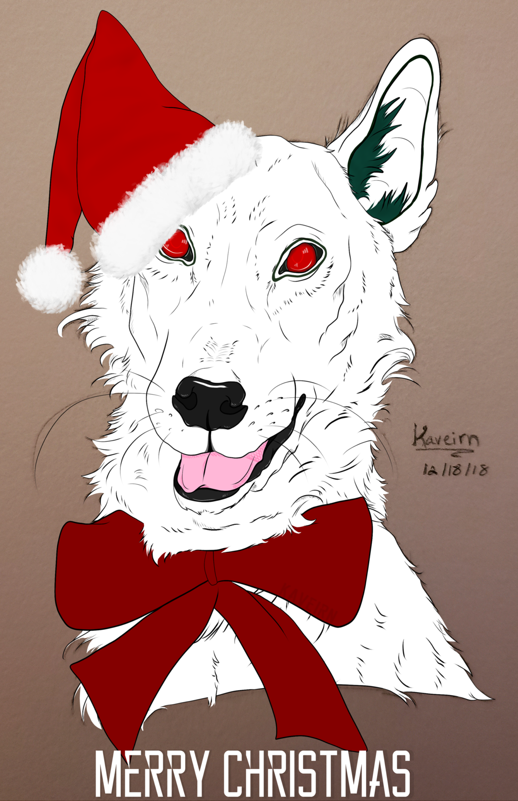 Most recent image: Ghost's Christmas Greeting