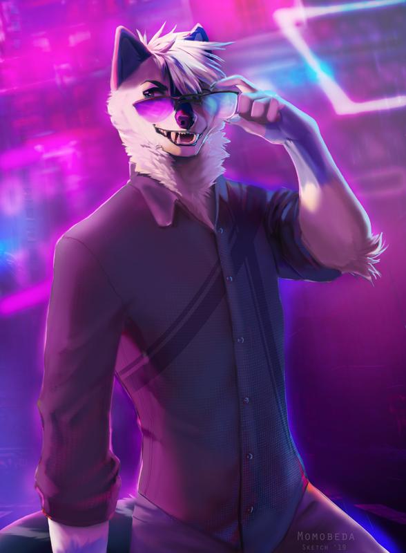 [ sketch ] Neon City