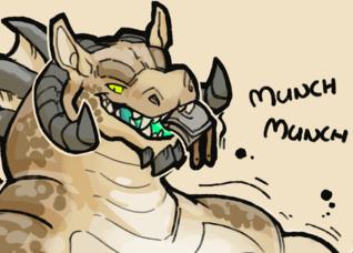 [Goopomancer] Munch munch