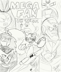 Mega Fan-Get Serious