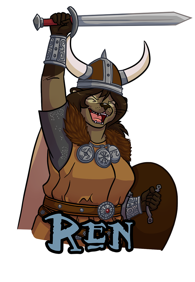 Most recent image: Badge: Viking Warrior Ren