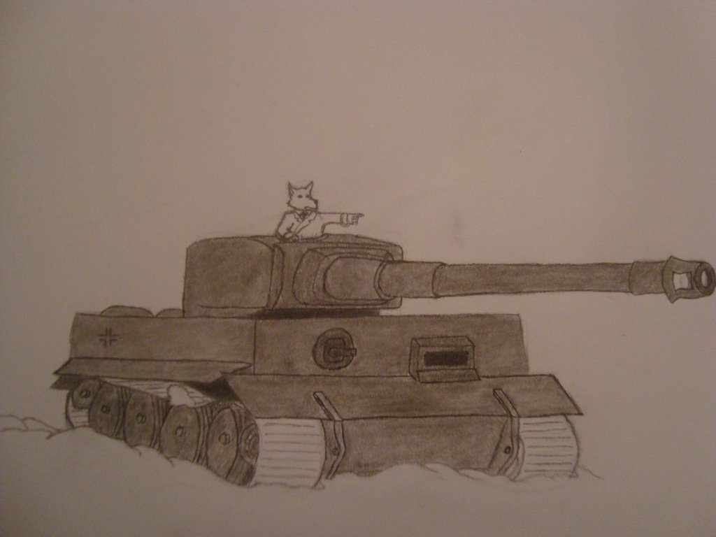 Most recent image: Achtung! Tiger!