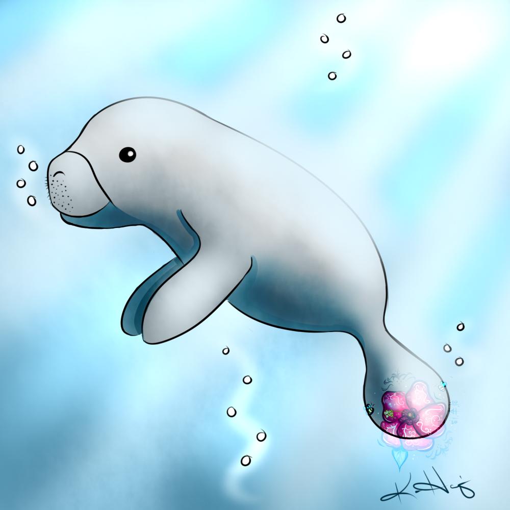 Drawlloween '20 - #8 Mermaid