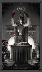 Character Tarot: The Magician (Stoker Bramwell)