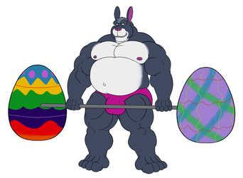 Big Easter Bunny Weasyl