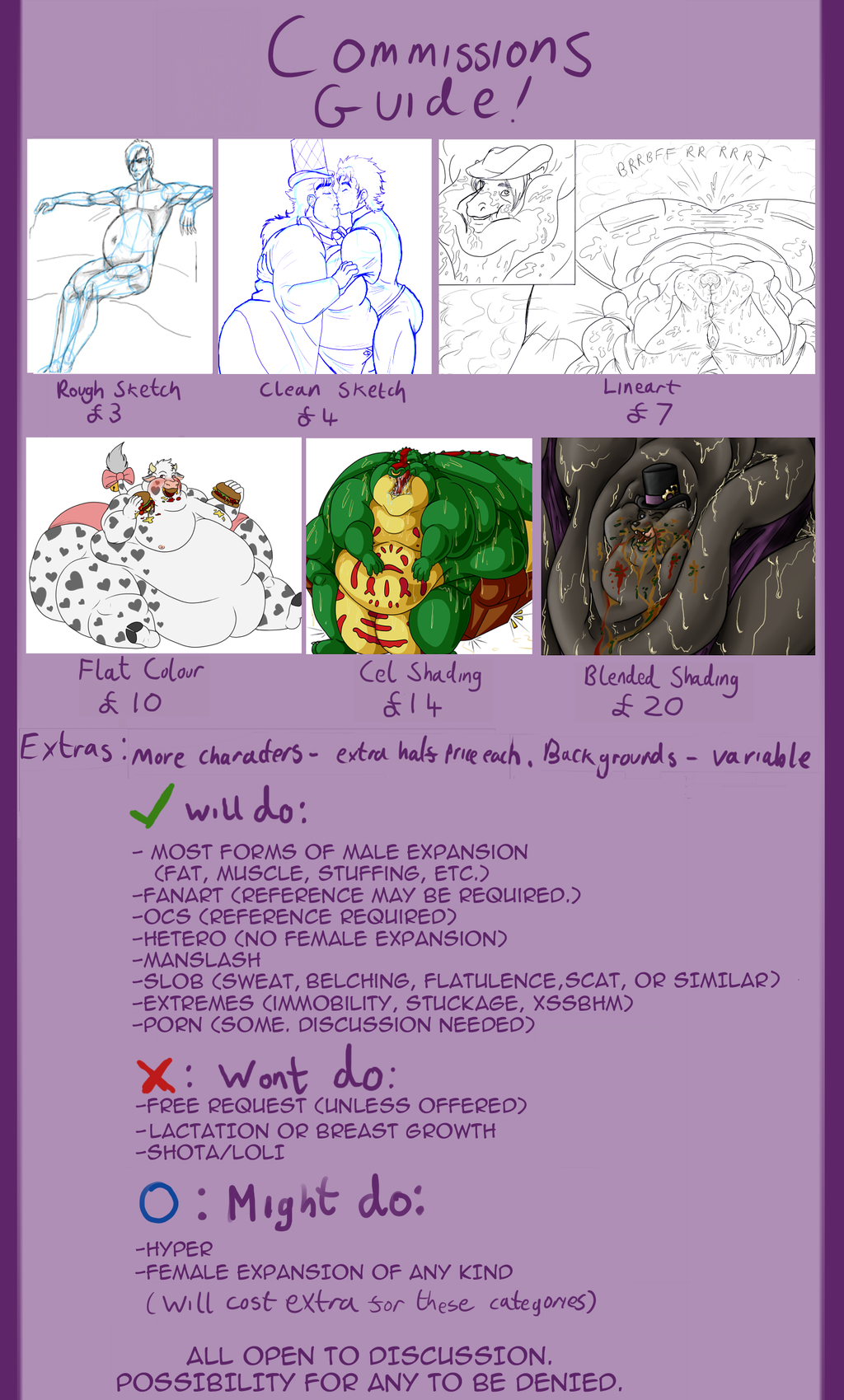 Opening Commissions!