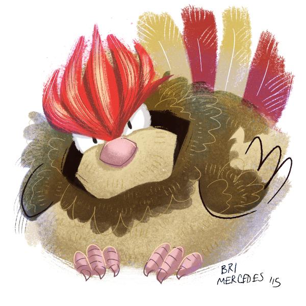 Pokemon A Day 017 - Pidgeotto