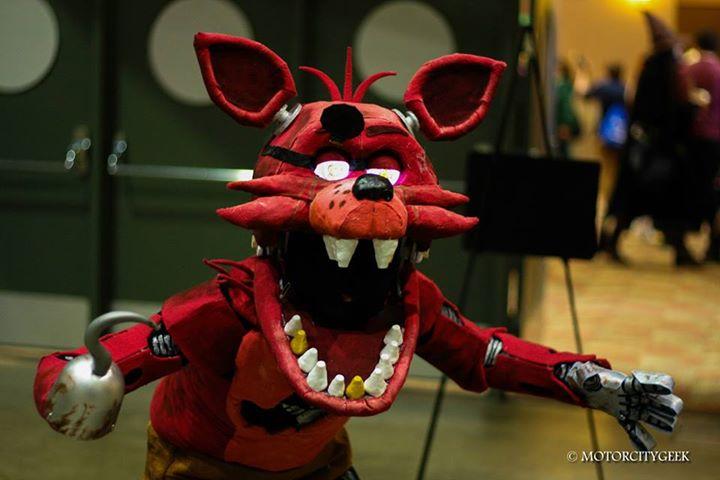 Foxy Cosplay Weasyl
