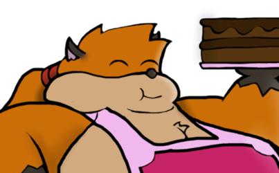 Chunky baker fox