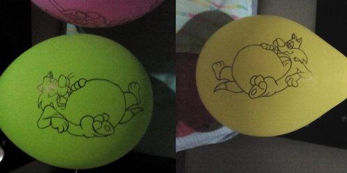 Sylvester Cat Balloon Belly