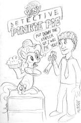 Detective Pinkie Pie