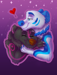 Couple of cute bears -Vday YCH Fin