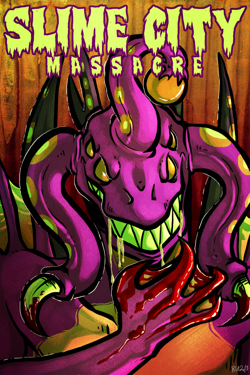 MOVIE POSTER: Slime City Massacre