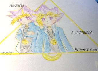 Yu-Gi-Oh! Duel Monsters - Yami and Yugi