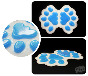 HANDPADS: Electric blue (UV)