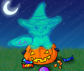 HALLOWEEN YCH $3 (UNLIMITED SLOTS)