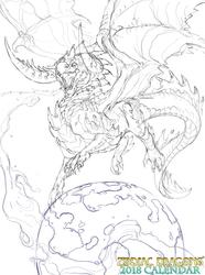 2018 Zodiac Dragons Galactic Taurus
