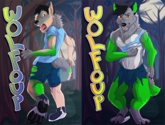 [c] Wolfoup Lenticular Shift Badge