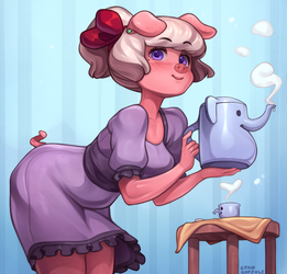Emelie's tea set