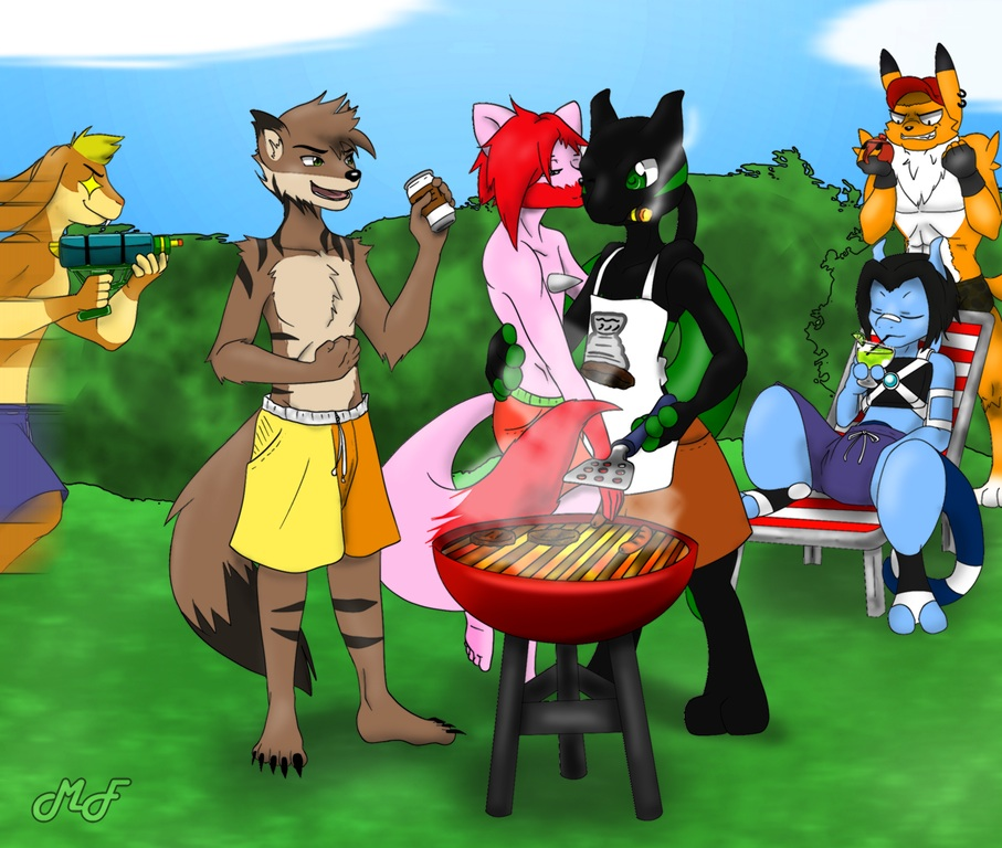 Barbeque! (COMMISSION)
