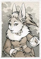 Art Card - Bunny Coat