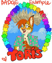 Badge Example Toris