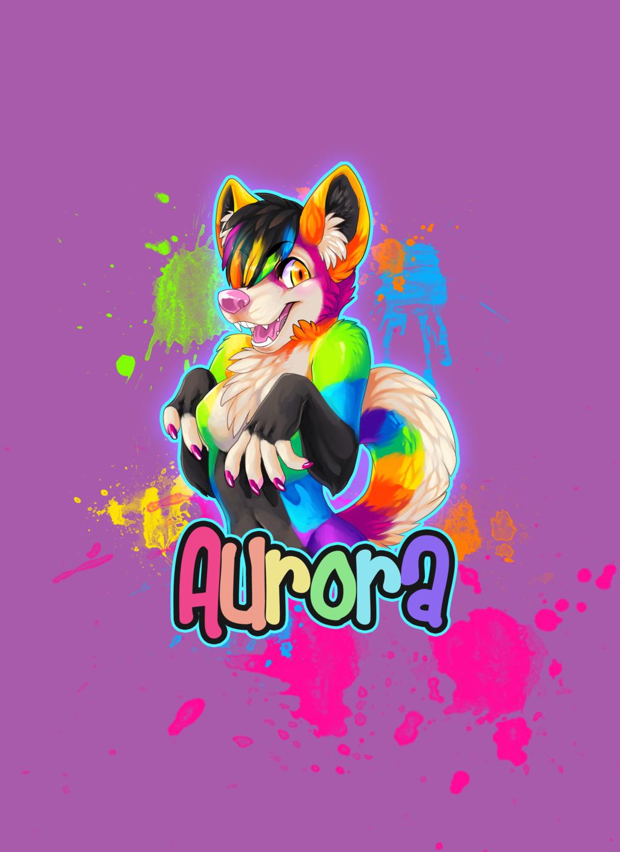 Aurora Badge - enjoiPANDAS