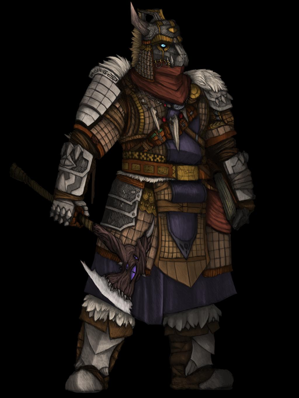 [OC] The Volkarian Warlord.