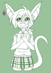 Waist-up Sketch Example