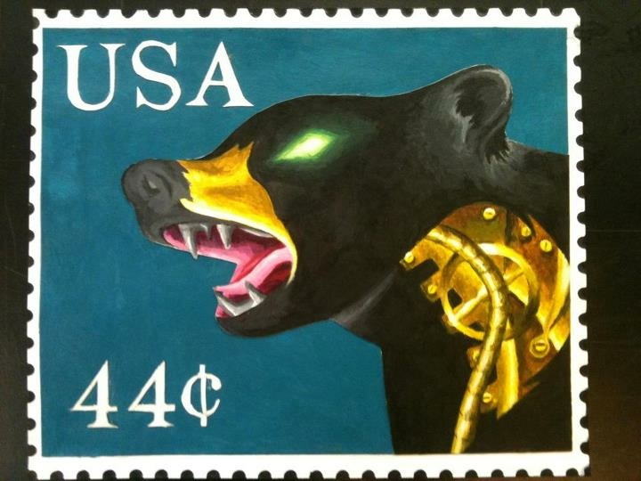 Most recent image: Bear Stamp