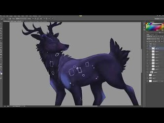 Star Deer Speed Paint