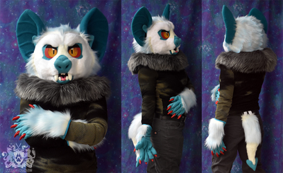 Ghost Vampire Bat Partial Suit FOR SALE