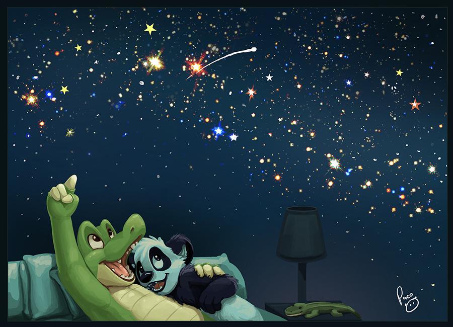A room full of stars