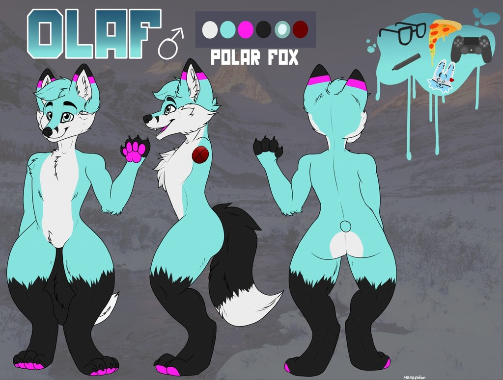 Most recent image: Olaf refsheet v2