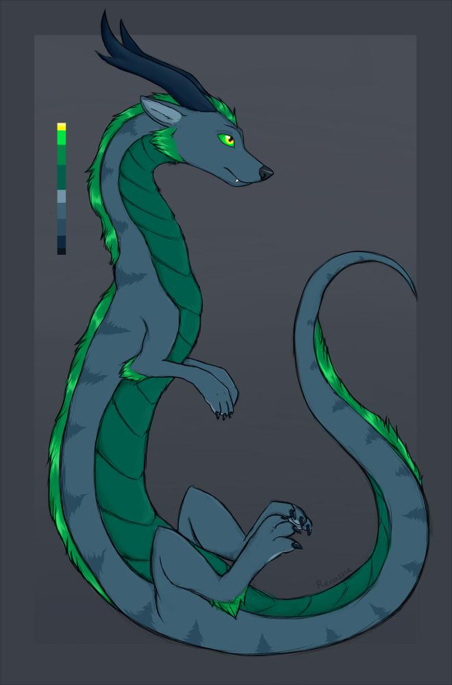 Alarbus - Eastern Dragon Design [Sold]