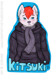 Kitsuki - Badge