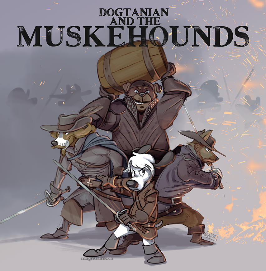 Dogtanian and the Muskehounds