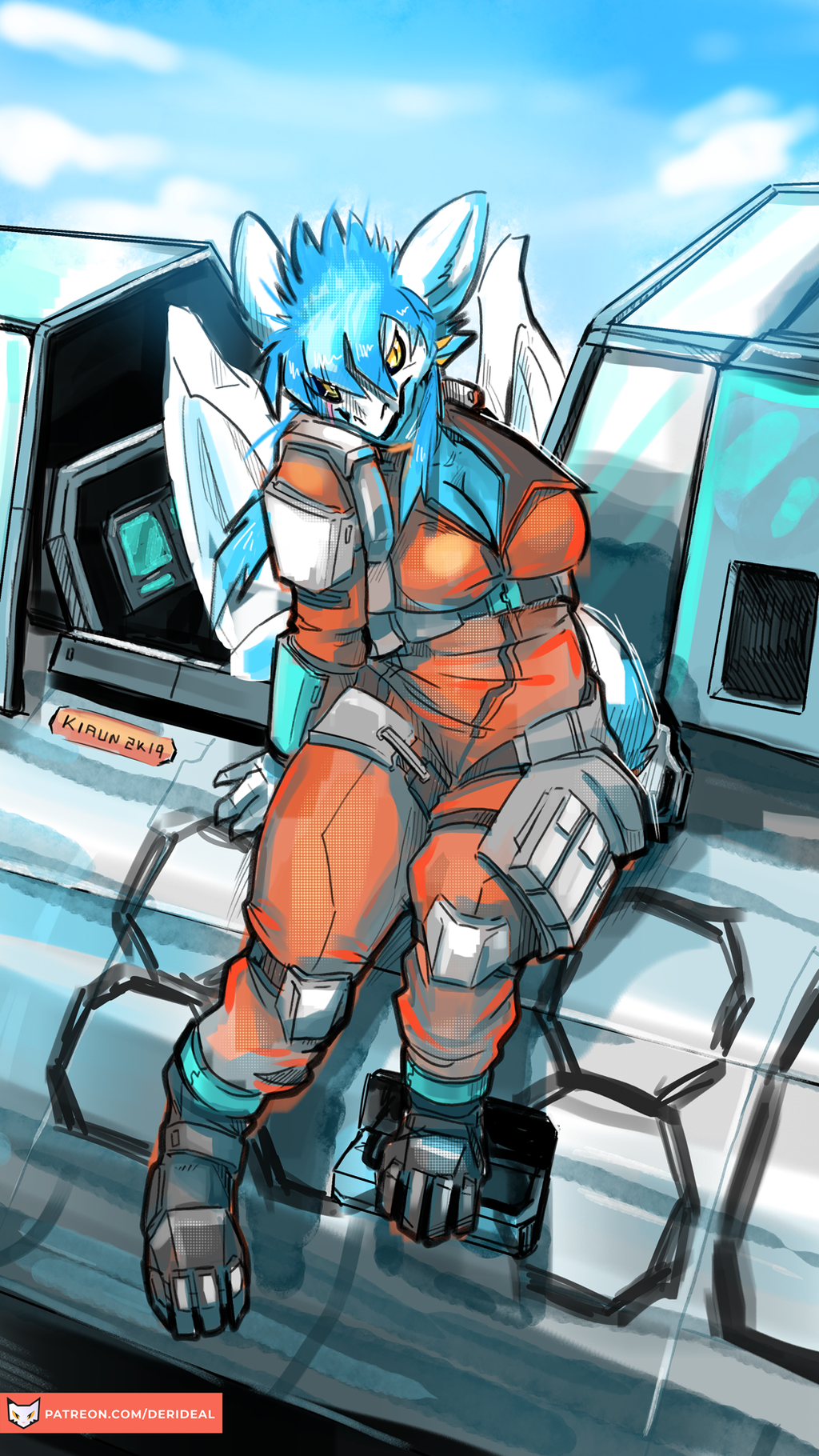 Pilot Dragoness