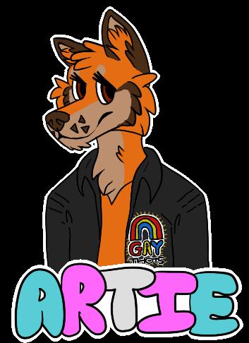 Most recent image: artie badge