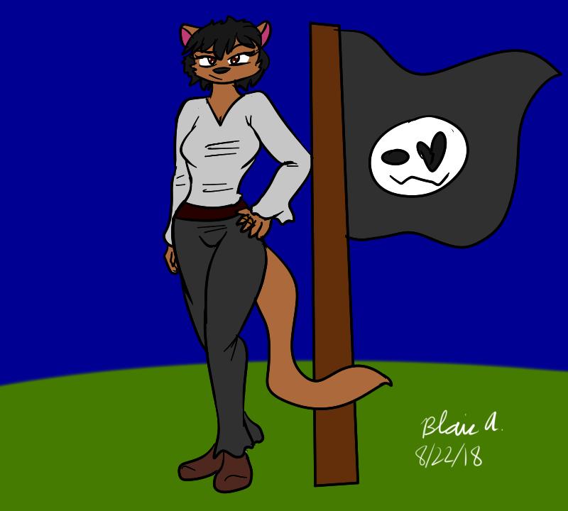 Most recent image: Joan Corazon, Captain of the Blackhearts