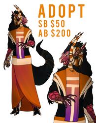 [OPEN] Dragon Healer Adoptable