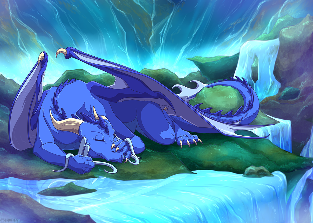 Iced Dragoness