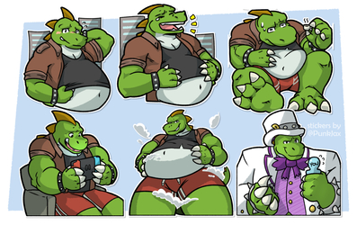 Telegram Stickers: BigDino