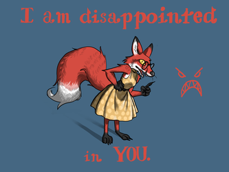 Disappointed (Colored)