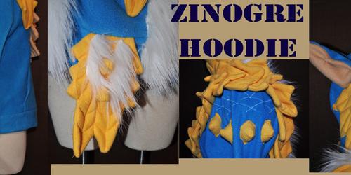 zinogre Hoodie Detail