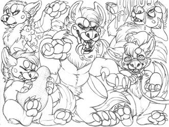saebo sketchpage commission