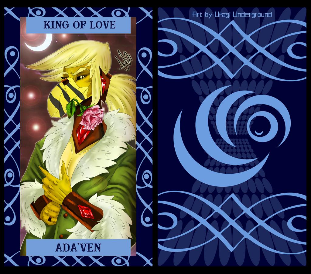 The Uragi Tarot - King of Love
