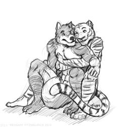 COMMISSION: Hug Around