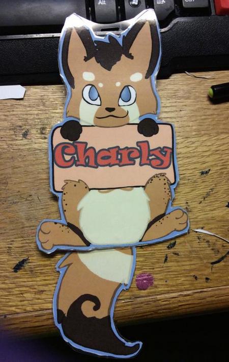 Charly Badge